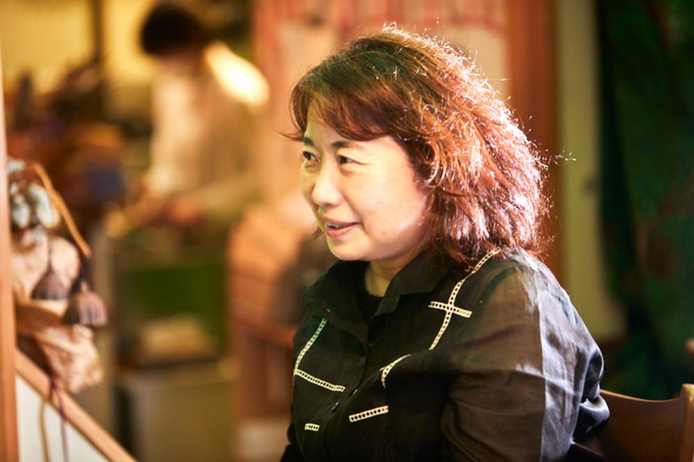 座談会に参加する國枝教授の写真