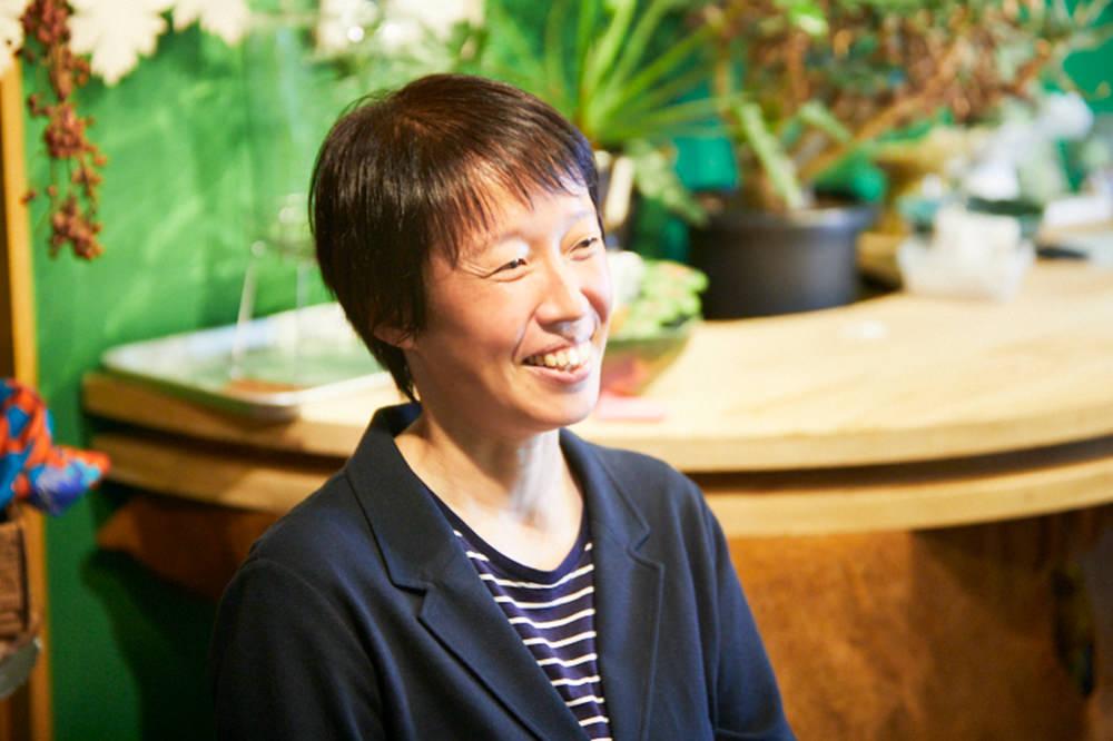 座談会に参加する保井准教授の写真