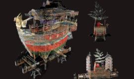 """世界初の""""3次元透視可視化""""技術で文化遺産デジタルアーカイブは新局面へ"""
